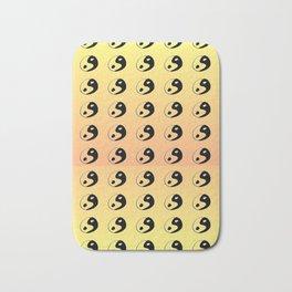 Yin and Yang 9 - Tao,Zen,Taoism,Dao,Harmony,religion,buddhism,buddhist,taijitu,taiji,taoist,china Bath Mat