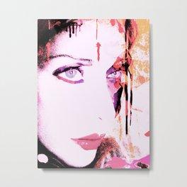 Pinki Metal Print