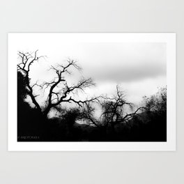DARK FEEL Art Print