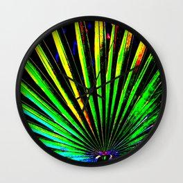 Pop Art Palm II Wall Clock