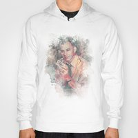 frank sinatra Hoodies featuring Frank Sinatra by Nechifor Ionut