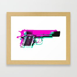 .45 3D Framed Art Print