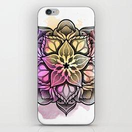 Watecolor Mandala iPhone Skin