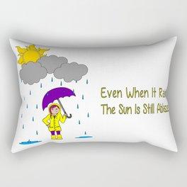 Sunshine and Rain Rectangular Pillow