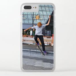 Mid-Air Flight Clear iPhone Case