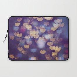 Love Unconditionally Laptop Sleeve