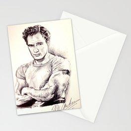 Young Marlon Brando Stationery Cards