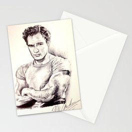 Young Marlon Brando Stationery Cards