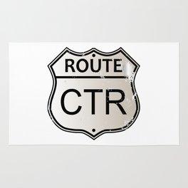 CTR Highway Sign Rug