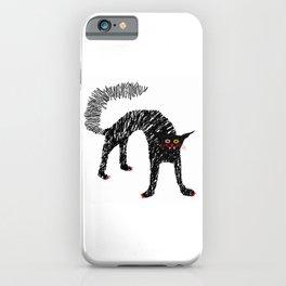 Black Cat 02 iPhone Case
