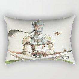 Genji Watercolour Rectangular Pillow