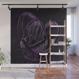 Enhanced Crocus Wall Mural
