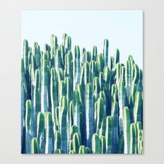 Cactus V2 #society6 #decor #fashion #tech #designerwear Canvas Print