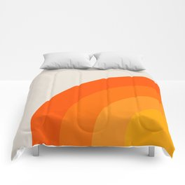 Sunrise Rainbow - Left Side Comforters