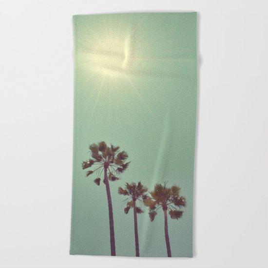 Beaming Beach Towel