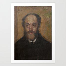 Portrait of the Art Critic Durand-Gréville Art Print