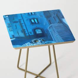 Will the night ever fall down? Side Table