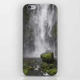 multnomah falls rock iPhone Skin