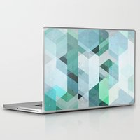 nordic Laptop & iPad Skins featuring Nordic Combination 22 by Mareike Böhmer