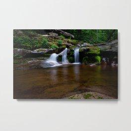 Catskill Waterfall Metal Print