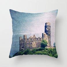 Burg Maus Throw Pillow