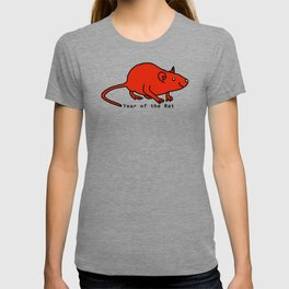 Red Year of the Rat T-shirt