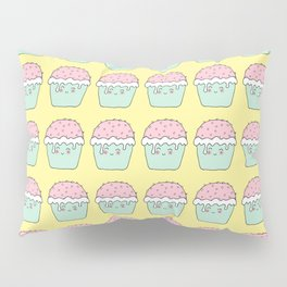 Yellow cup cakes Pillow Sham