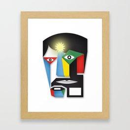 me 3.0 Framed Art Print