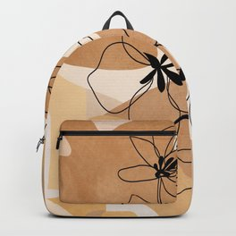 Elegant Flowers Backpack