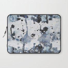 indigo: abstract painting Laptop Sleeve