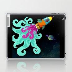 Happy Trip Rocket Ship Laptop & iPad Skin