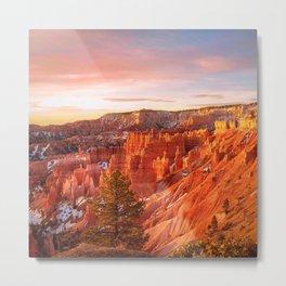 Warmth of Sunrise (Bryce Canyon, Utah) Metal Print