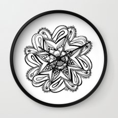 Zendala ornate Wall Clock