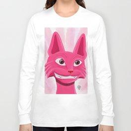 Lollipop the pinky cat Long Sleeve T-shirt
