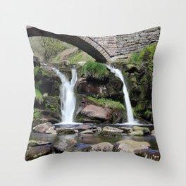 Three Shires Head Waterfall Throw Pillow