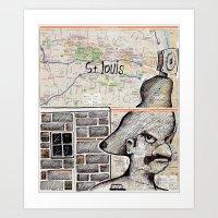 St. Louis, Missouri Art Print