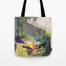 Spikes and Rubble Tote Bag