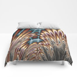 Fractal Cathedral Comforters