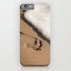 Foot print in the sand iPhone 6s Slim Case