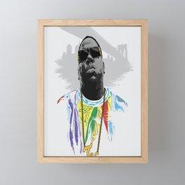 Notorious Framed Mini Art Print