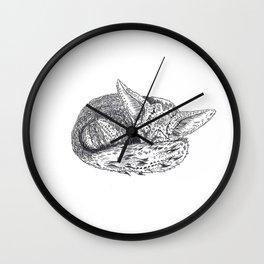 PETIT FOX - BIG DREAMS Wall Clock