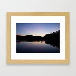 Dawn, Kent Pond Framed Art Print