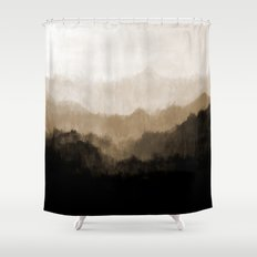 Old Mountain Shower Curtain