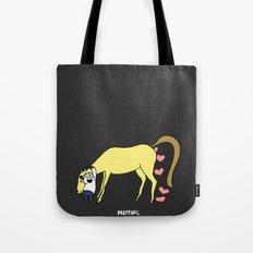 BB&PPINC Horse Hug - Charcoal Tote Bag