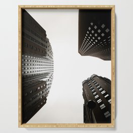 Skyscrapers Serving Tray
