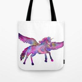 Winged Unicorn Tote Bag