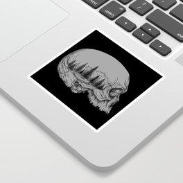 SKULL/FOREST II Sticker
