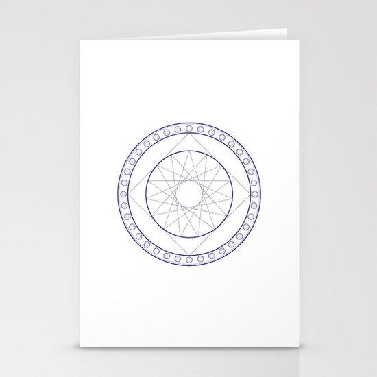 Anime Magic Circle 16 Stationery Cards