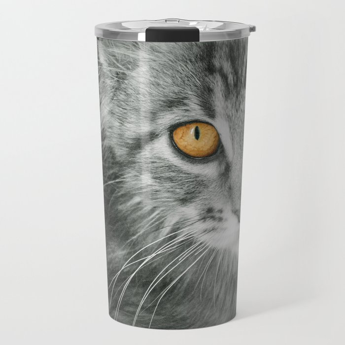 MONO KITTEN Travel Mug