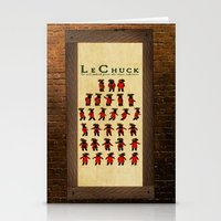 monkey island Stationery Cards featuring Monkey Island - LeChuck's Moves by Sberla